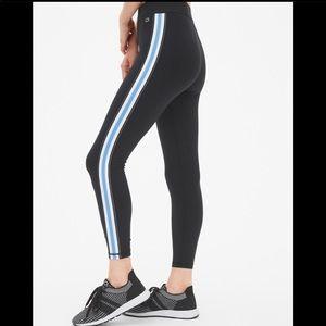GapFit High Rise Blackout Side-Stripe 7/8 Leggings